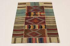 nomades patchwork délavé look antique PERSAN TAPIS tapis d'Orient 1,66 x 1,30