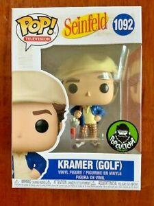 Kramer playing Golf SEINFELD Funko Pop Vinyl New in Box
