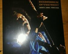 "Jimi Hendrix 7""45rpm vinyl Johnny B Goode/Purple Haze OOP record store day RSD #"