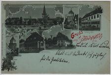 AK Gruss aus Schönfliess N/M. (Trzcińsko-Zdrój) obieg 1900 r.