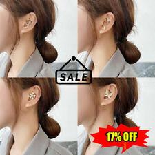 Crystal Zirconia Earrings Ear Wrap Crawler Hook Women HOT Jewelry Gifts G8H1