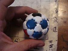 VINTAGE hacky sack-soccer ball style red blue black white unbranded a bit bigger