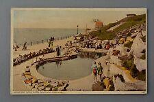 R&L Postcard: Morecambe Kiddies Pool Sunny Slopes Sandyland 1930s