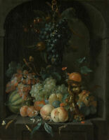 "high quality oil painting handpainted on canvas ""still life with fruits """