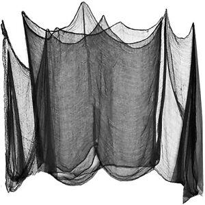 HALLOWEEN WEB CREEPY CLOTH TABLE DOORS WINDOWS DECORATIVE CLOTH2.4 METERS UK