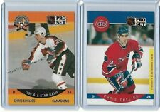 1990-91 NHL Pro Set Chris Chelios #368 #147 Montreal Canadiens Blackhawks