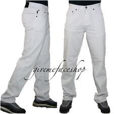 Jeans da uomo bianche