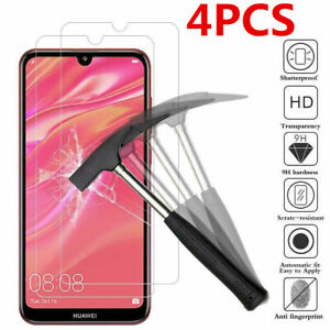 4Pcs Tempered Glass For Huawei Honor Screen Protector Protective Honor 8X 8A 9X