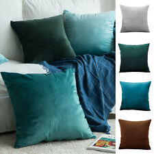 Pack of 2 Velvet Throw Pillow Cover with Zip Sofa Decorative Cushion Covers Case