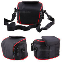 Bridge Camera Shoulder Waist Case Bag For Panasonic LUMIX DMC TZ90 TZ80 LX15