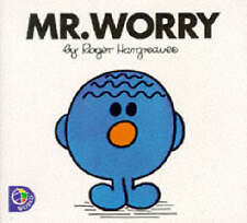 Hargreaves, Roger, Mr.Worry (Mr. Men Library), Paperback, Very Good Book