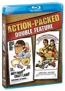 DIRTY MARY CRAZY LARRY / RACE WITH THE DEVIL  HI-DEF BLU RAY PETER FONDA 1974/5