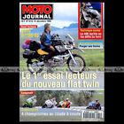 MOTO JOURNAL N°1210 BMW R 1100 GS, YAMAHA FZR 600 BONORIS, DUCATI 748 SP CHAMBON
