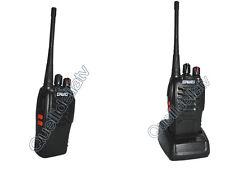 RICETRASMITTENTE PORTATILE 16 CANALI 5W TRASMITTENTE RADIO UHF RICETRASMETTITORE