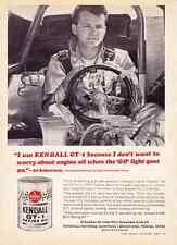 1967 ED SCHARTMAN - 427 SOHC CYCLONE  ~  NICE ORIGINAL KENDALL OIL AD