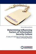 Determining Influencing Factors Of Information Security Culture: By Rohana Mo...