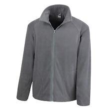 Result Unisex Micron Fleece Jacket R114x XL Charcoal R114xcharxl