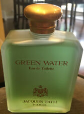 GREEN WATER by Jacques Fath 125 ml/ 4.16 oz Eau de Toilette Splash Vintage New!!