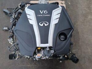 Nissan Infiniti 3.0 Double Moteur Turbo Changement VR30DDTT RWD