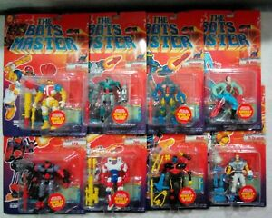 Lot of 8 The Bots Master Action Figures Unopened