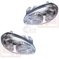 Scheinwerfer Set Daewoo Lanos Bj. 05/97-01/04 H4 Frontscheinwerfer 1334827