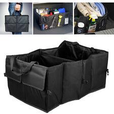 Black Foldable Car Auto Back Rear Trunk Seat Storage Bag Multi Pocket Organizer