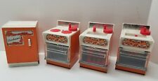 Metal Durham Doll House Appliances Vintage Japan Lot of 4