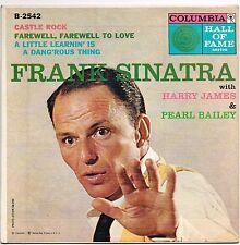 FRANK SINATRA & harry james & pearl bailey U.S. COLUMBIA E.P. B-2542_1957 N.MINT