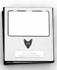 More details for fox face kr design silver personalised photo album free engraving 100 photos 140