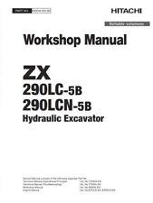 HITACHI ZX 290LC-5B 290LCN-5B WORKSHOP REPRINTED COMB BOUND