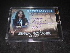 Bates Motel Autograph Trading Card Jenna Romanin as Jenna (Holder)