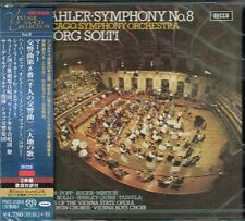 Mahler Symphony No. 8 Georg Solti Japan 2 SACD w/OBI NEW/SEALED