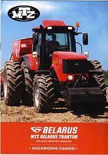 MTZ Belarus Gamme 2015 catalogue brochure tracteur Traktor tractor