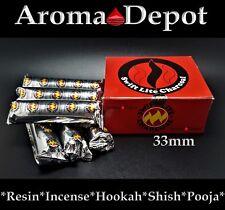 Swift Lite Large 33mm Charcoal Incense Hookah 1 2 3 4 5 6 100 Shisha Pooja Resin