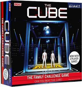THE CUBE Family Challenge Board Game  Can You Beat The Cube???