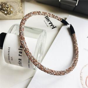 Luxury Girls Shiny Rhinestone Hair Band Pearl Hair Accessories Crystal Headband