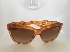Dolce & Gabbana D&G DG 4264 512/13 Blonde Havana 55mm Sunglasses  Authentic
