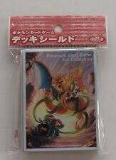 Japanese Pokemon Card Sleeves, Charizard EX (62 Sleeves) Art Collection Promo