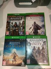 lot assassin's creed AC origins deluxe syndicate the ezio collection xbox one