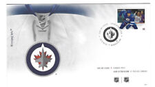 CANADA STAMP FIRST DAY COVER WINNIPEG JETS NHL HOCKEY  FDC * MINT