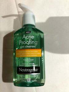 NEUTROGENA Acne Proofing Salicylic Acid Facial Gel Cleanser ~ 6oz EXP 11/19