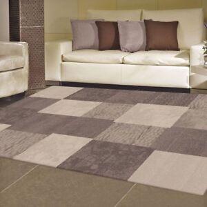 New Modern Box Designer Soft Fine Rug Carpet Non Shedding All Sizes