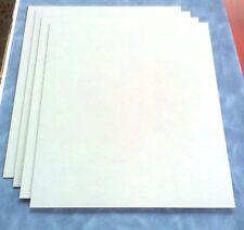 2 Stck Hartpapier  3 mm  500 x 250 mm   weiss