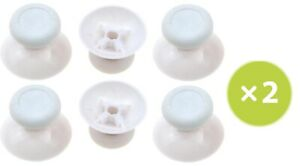 Lot of 12 Analog Thumbstick Joystick Replacement for Xbox One Slim X White