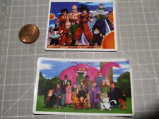 X2 GROUP DRAGONBALL Z Sticker/ Decal Bumper Stickers Actual Pattern NEW