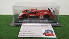 TOYOTA  GT-ONE LE MANS 1999 # 3 ESSO 1/43 PRESSE voiture miniature de collection