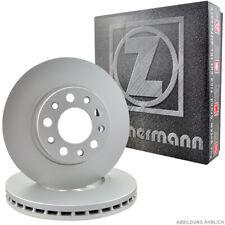 Zimmermann Disques De Frein Jeu AX Saxo Xsara ZX 106 205 206 306 309 avant