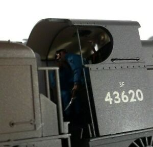 Bachmann 31-628DC Class 3F 0-6-0 43620 BR black late crest Weathered: DCC fitted