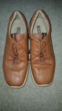 Ladies Ecco leather shoes Size 5