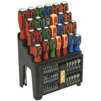 Sealey S01153 Hammer-Thru Screwdriver, Bit & Nut Driver Set 61pc